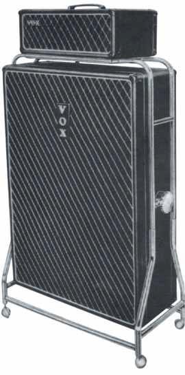 100 Watt, und kein bisschen leise: AC100- Anlage, die die Beatles von Vox forderten