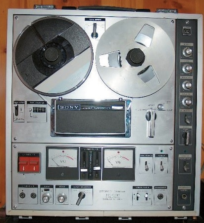 Sony Tapedeck als Tape-Delay