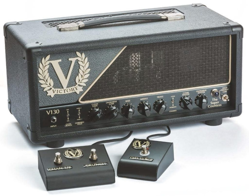 Test Victory Amplification V130 The Super Countess Gitarre Bass Radio Wiring