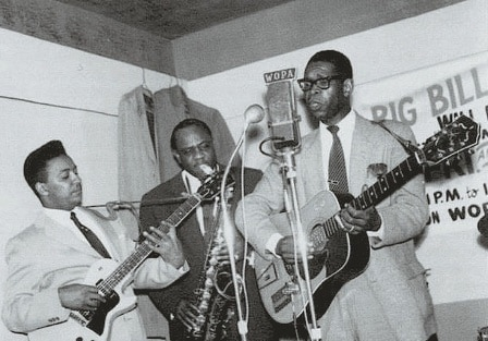 Elmore James mit Band