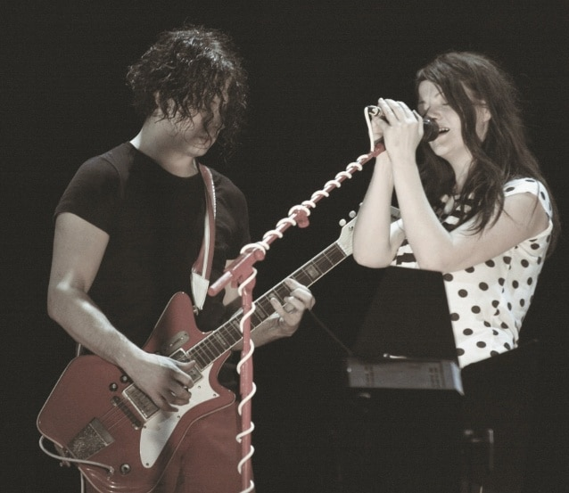 Jack White mit White Stripes Kollegin Meg White