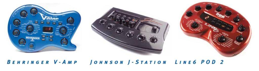 POD2, J-Station & V-Amp