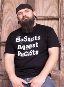 Bassists Against Racists Shirt