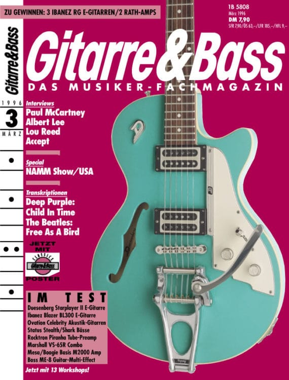 Starplayer II auf dem G&B Cover