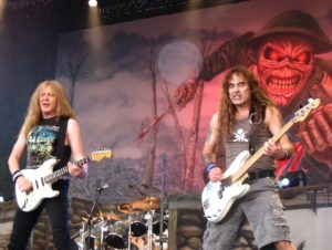 Iron Maiden at the Fields of Rock Festival