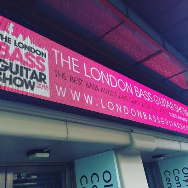 London Bass Guitar Show 2