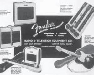 Fender Commercial von 1950, verschiedene Amps und die Esquire