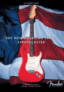 Commercial der American Stratocaster