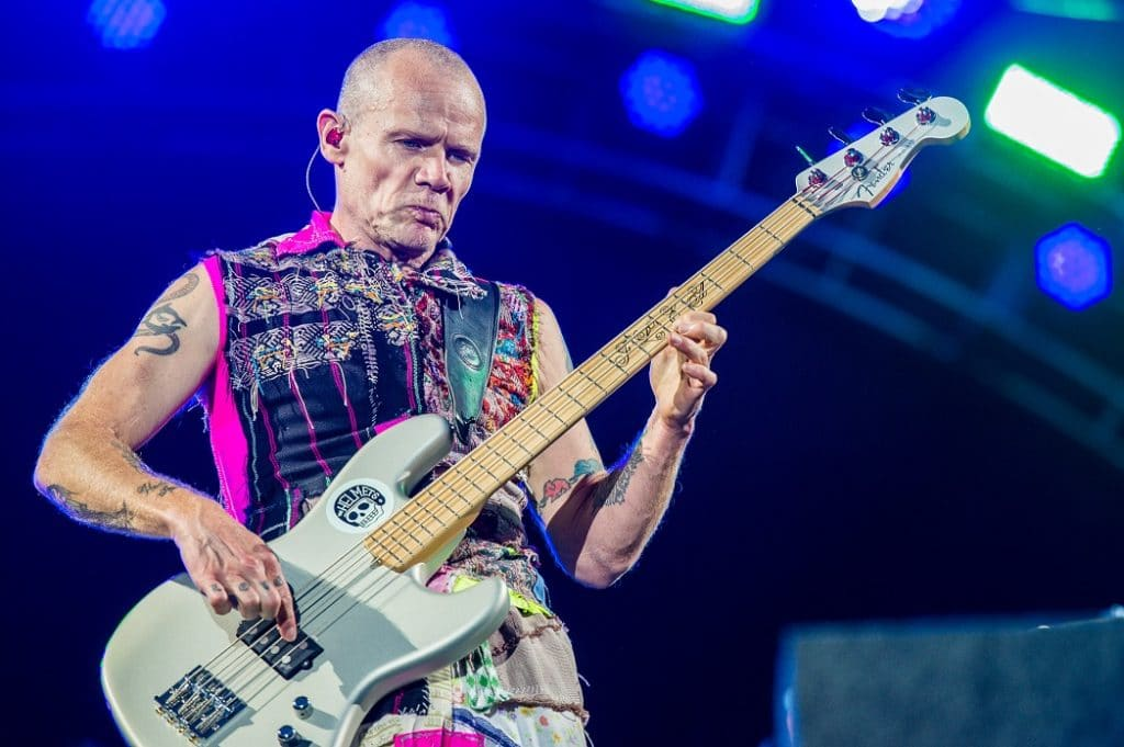 Bassist Flea