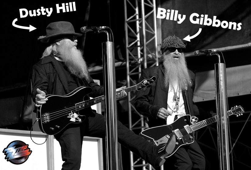 ZZ Top Billy Gibbons und Dusty Hill