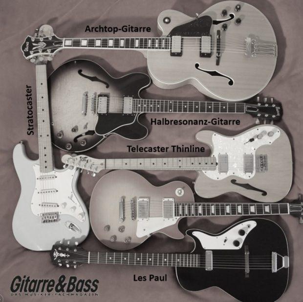 Gitarrentypen