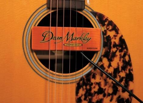 Dean Markley ProMag Gold Schallloch-Pickup