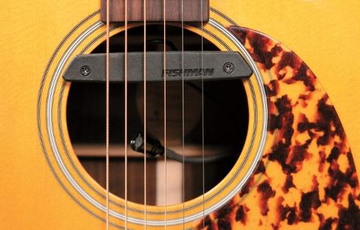 Fishman Rare Earth Blend Schallloch- Pickup mit zusätzlichem Mikrofon