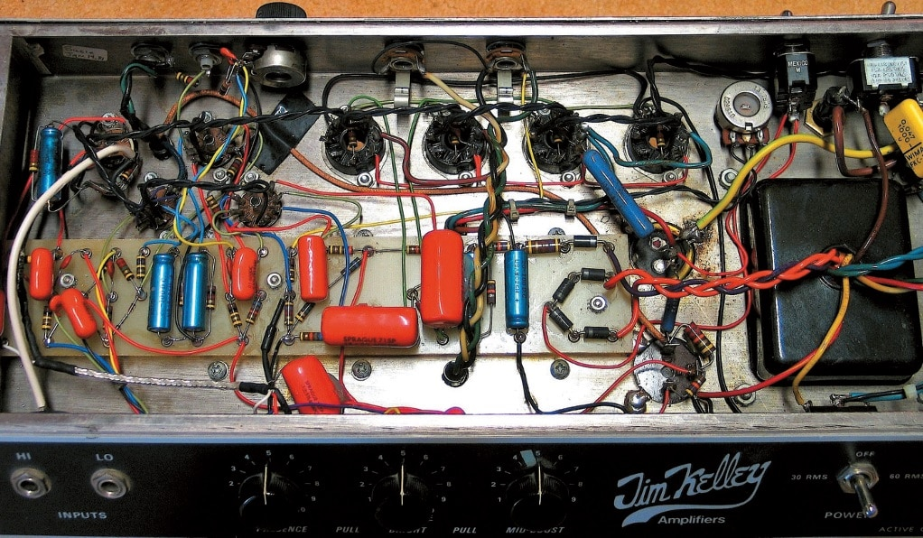 Jim Kelley Amp