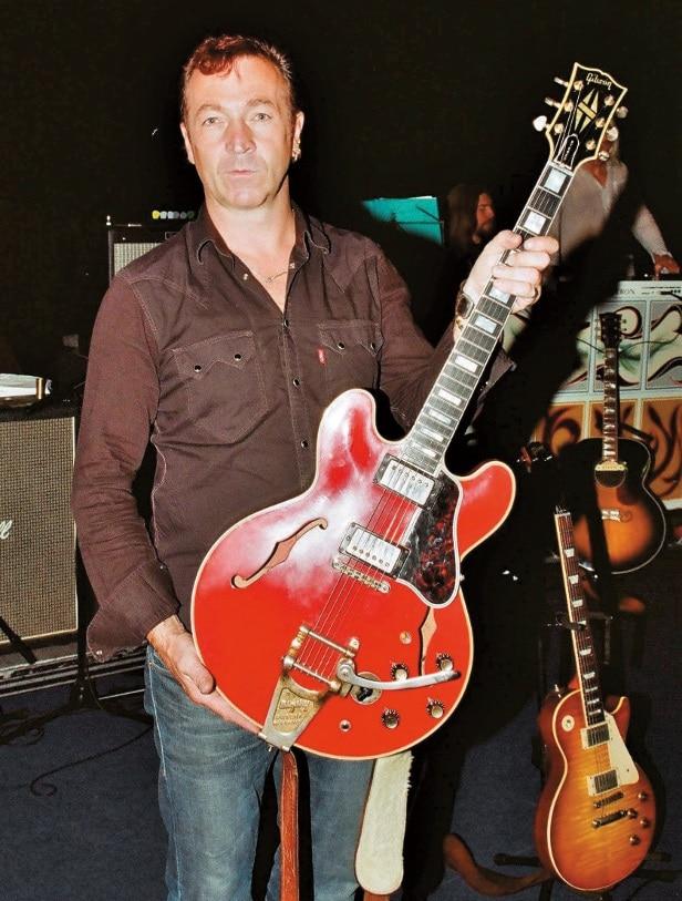 Gitarrentechniker Noel Gallagher