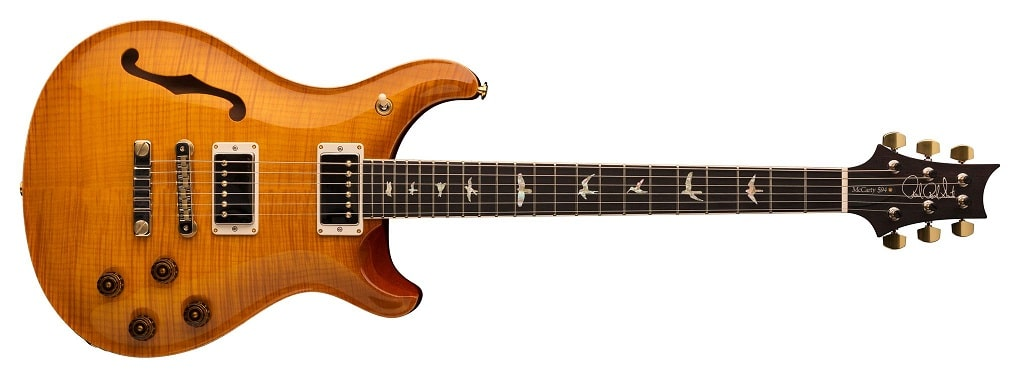 PRS McCarty 594 Semi Hollow McCarty Sunburst