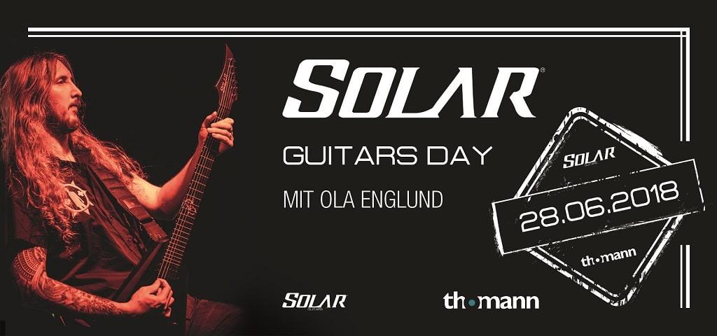 Solar Guitars Day Thomann