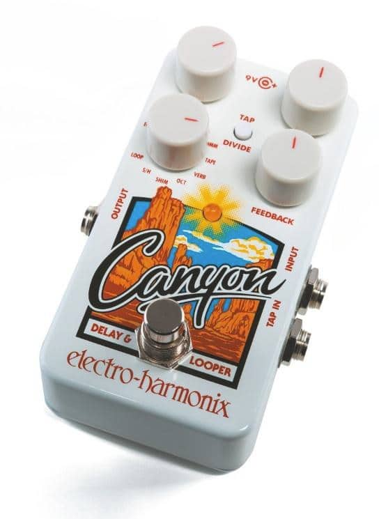 EHX Canyon Delay