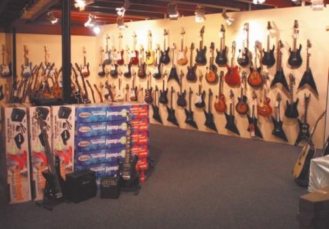 Mehr Lefties geht nicht – das Lefthand Guitar Center hat seit 2012 geöffnet.