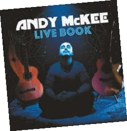 Andy McKee Live Book Album Cover
