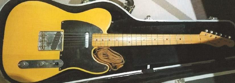 Ben Harpers Fender Telecaster