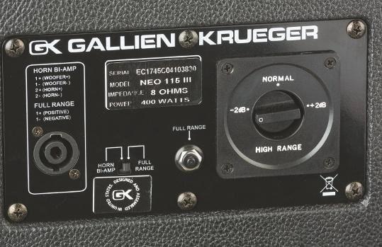Gallien-Krueger Neo 115 III