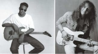 Tony MacAlpine und Jason Becker sw