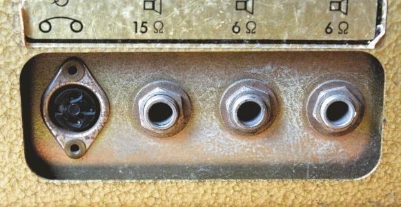 Ausgänge für 6 und 15 Ohm 1964 Klemt Echolette M40