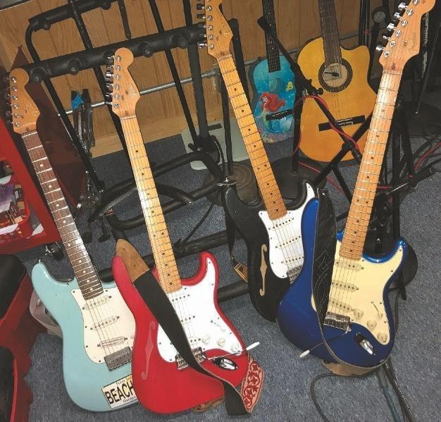 Jim Thomas' Gitarren