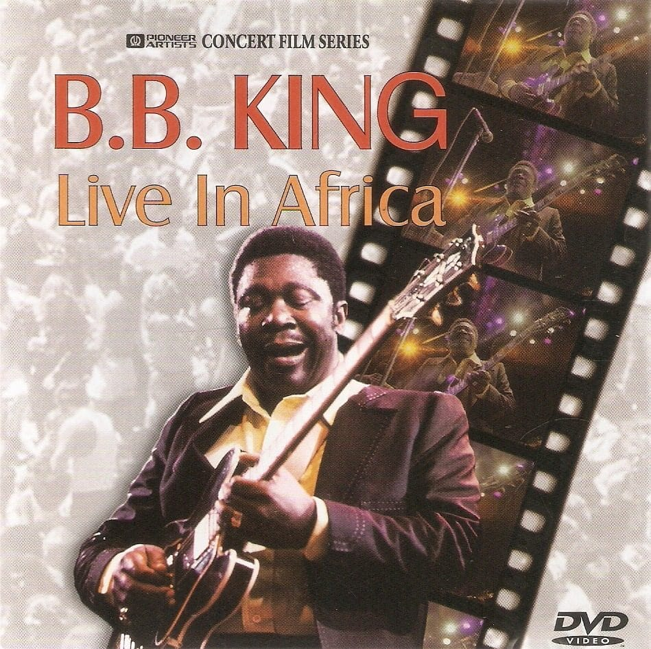 Gibson ES Birthday B.B.King Live in Africa 1974 COVER
