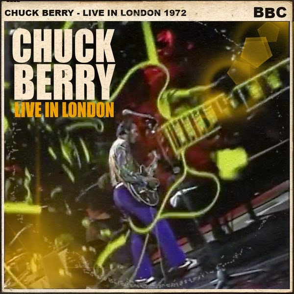 Gibson ES Birthday Chuck Berry Live In London 1972 COVER