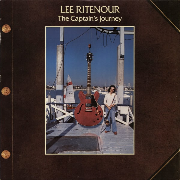 Gibson ES Birthday Lee Ritenour The Capatain's Journey 1978 COVER