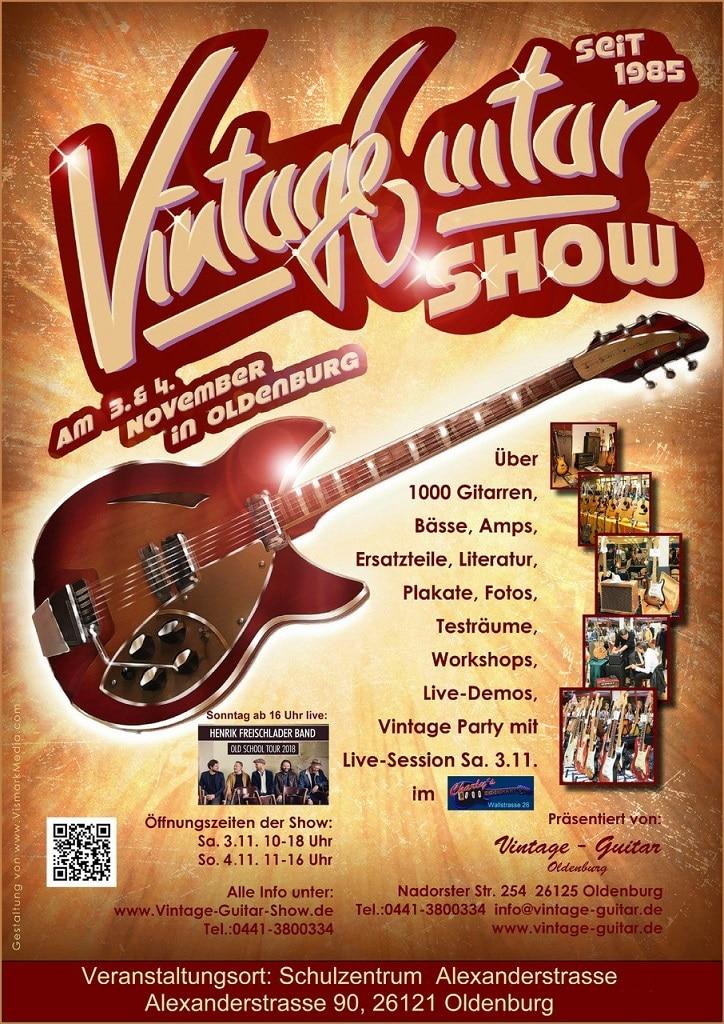 Vintage Guitar Show 2018