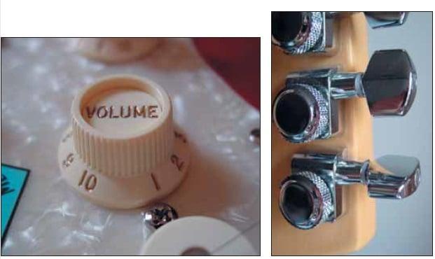 Deluxe: S-1 Schalter, Locking-Mechaniken, abgerundeter Halsübergang