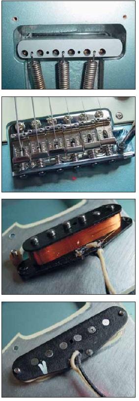 Vintage-Hardware: Vintage-Deluxe Vibrato mit massivem Stahlblock, New American Vintage Pickups