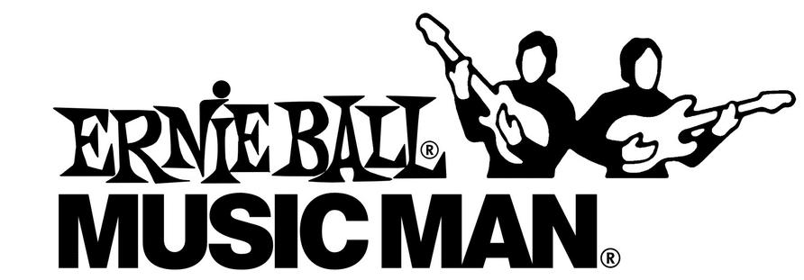 Das Logo von Music Man Ernie Ball