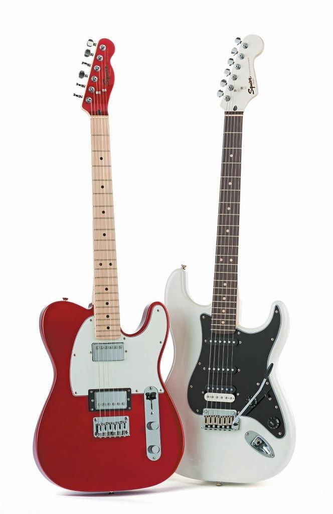 Squier Contemporary Telecaster Stratocaster