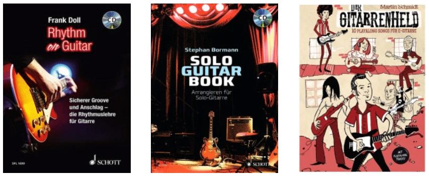 Gitarrenbücher aus dem Shop
