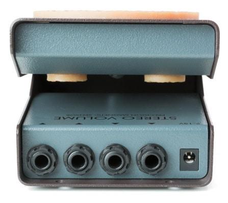 Beim zweikanaligen Stereo Volume wurde auf Direct- Ausgänge und Gain-Regler verzichtet.