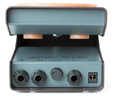 Am Gain-Poti können bis zu 10 dB zusätzliche Verstärkung abgerufen werden.