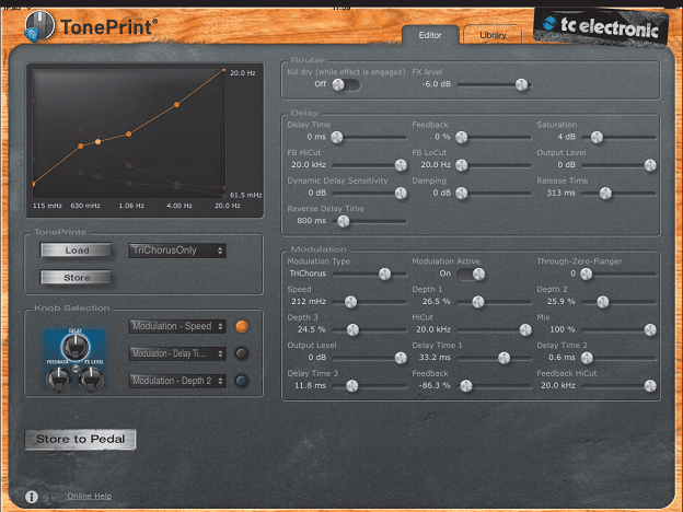 TonePrint Software