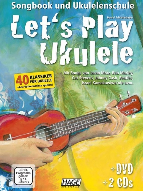 Fachbuch Lets Play Ukulele