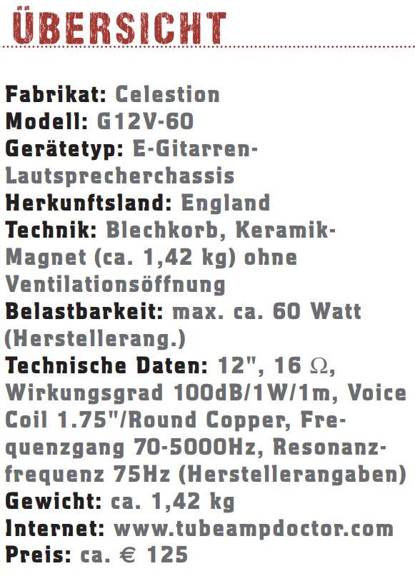 Celestion G12V-60