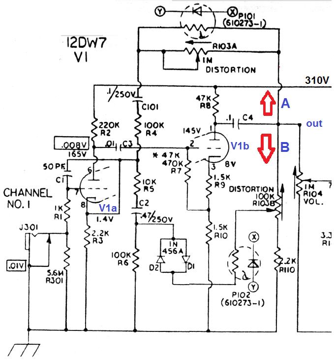 WS Effektiv #1 Ampeg VT22 Verzerrer