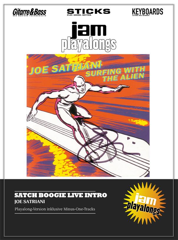 Produkt: Satch Boogie Live Intro (Montreux 1988) – Joe Satriani & Stu Hamm