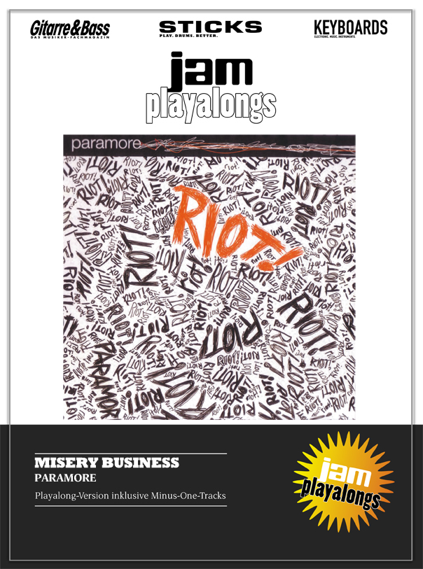 Produkt: Misery Business – Paramore
