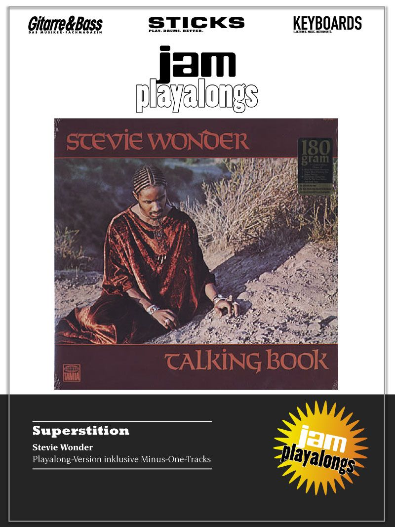 Produkt: Superstition – Stevie Wonder