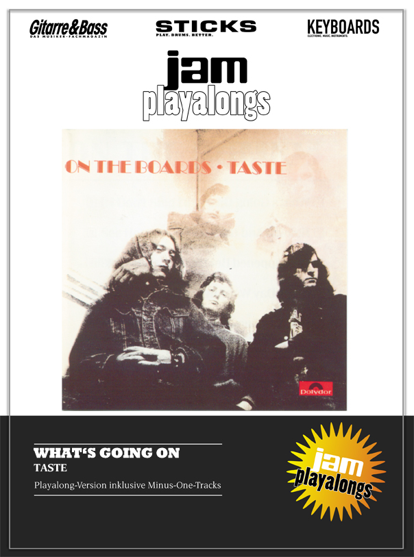 Produkt: What's Going On – Taste & Rory Gallagher