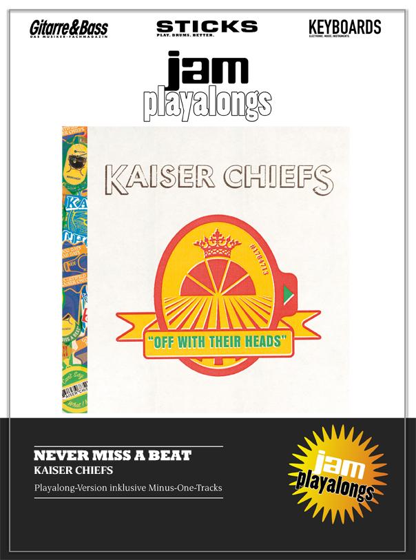 Produkt: Never Miss A Beat – Kaiser Chiefs
