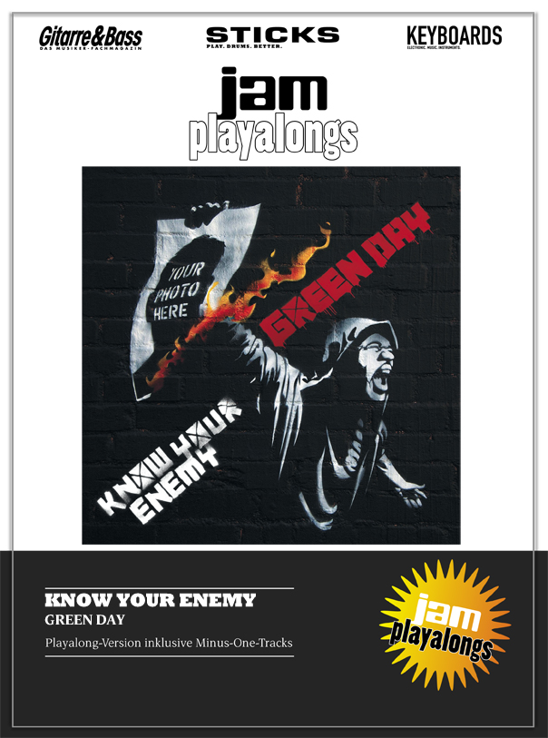 Produkt: Know Your Enemy – Green Day